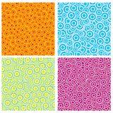 Fundo colorido do círculo do arco-íris Imagens de Stock