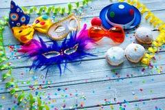 Fundo colorido do carnaval foto de stock royalty free