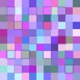 Fundo colorido do cubo do sumário 3d Fotos de Stock