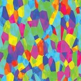 Fundo colorido do diamante sem emenda abstrato Imagens de Stock
