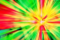 Fundo colorido do divertimento do sumário do sunburst da reggae foto de stock royalty free
