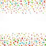 Fundo colorido do feriado com espaço da cópia ilustração stock