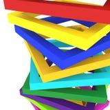 Fundo colorido do fundo 3d Imagem de Stock Royalty Free