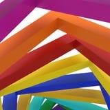Fundo colorido do fundo 3d Imagens de Stock Royalty Free