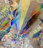 Fundo colorido do gelo fotos de stock