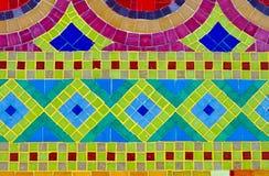 Fundo colorido do mosaico imagens de stock royalty free