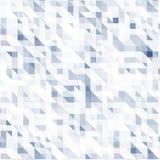 Fundo colorido do mosaico Cores azuis e brancas Foto de Stock Royalty Free