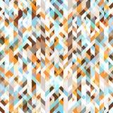 Fundo colorido do mosaico Cores azuis e marrons Imagem de Stock Royalty Free