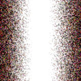 Fundo colorido do mosaico do retângulo de Brown Foto de Stock