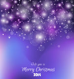 Fundo 2014 colorido do Natal Fotos de Stock