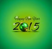Fundo 2015 colorido do Natal Imagens de Stock Royalty Free