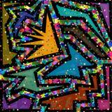 Fundo colorido do papel de parede sumário geométrico Ilustração do Vetor