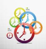 Fundo colorido do papel do sumário 3d Imagens de Stock