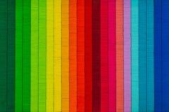 Fundo colorido do sumário da textura da linha do arco-íris Foto de Stock