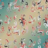 Fundo colorido do sumário do teste padrão das pétalas Ilustração Royalty Free
