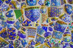 Fundo colorido do teste padrão de mosaico Imagens de Stock Royalty Free