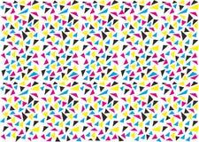 Fundo colorido do triângulo Fotografia de Stock