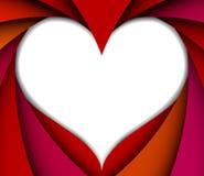 Fundo colorido do Valentim Foto de Stock
