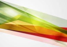 Fundo colorido do vetor da geometria Fotografia de Stock Royalty Free