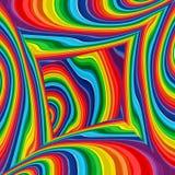 Fundo colorido do vetor do raibow abstrato, sala multicolorido da arte Foto de Stock
