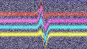 Fundo colorido do vetor dos círculos Sob a forma da assim ilustração do vetor