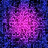 Fundo colorido do vidro manchado do vetor Imagem de Stock