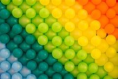 Fundo colorido dos balões Imagens de Stock Royalty Free