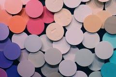 fundo colorido dos círculos foto de stock royalty free