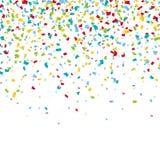 Fundo colorido dos confetes do carnaval Fotos de Stock