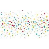 Fundo colorido dos confetes do carnaval Fotografia de Stock Royalty Free