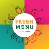 Fundo colorido dos frutos Fotografia de Stock Royalty Free