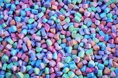 Fundo colorido dos marshmallows fotos de stock royalty free