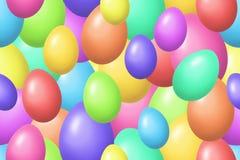Fundo colorido dos ovos de easter ilustração stock