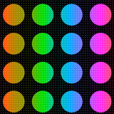 Fundo colorido dos pontos de polca Fotografia de Stock Royalty Free