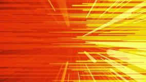 Fundo colorido dos raios horizontais e diagonais que movem-se para se animation Linhas estreitas brilhantes fluxo ilustração stock
