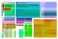 Fundo colorido dos trajetos Imagens de Stock