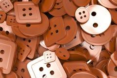 Fundo colorido feito dos botões da costura Foto de Stock Royalty Free