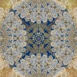 Fundo colorido gasto abstrato floral Imagens de Stock