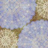 Fundo colorido gasto abstrato floral Foto de Stock Royalty Free