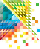Fundo colorido geométrico Foto de Stock