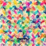 Fundo colorido geométrico abstrato. Imagens de Stock Royalty Free