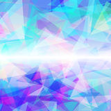 Fundo colorido geométrico abstrato Fotos de Stock Royalty Free