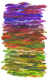 Fundo colorido isolado ilustração do vetor