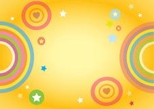 Fundo colorido para crianças Foto de Stock Royalty Free