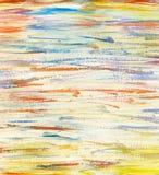 Fundo colorido pintado da aquarela fotografia de stock