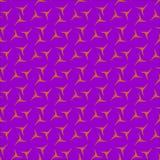 Fundo colorido, protegido e ondulado em projeto gerado por computador das cores diferentes ilustração stock