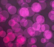 Fundo colorido roxo do bokeh Foto de Stock