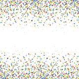 fundo colorido sem emenda dos confetes Fotos de Stock Royalty Free