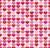 Fundo colorido sem emenda dos corações Fotografia de Stock Royalty Free