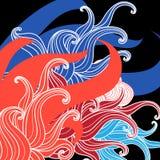 Fundo colorido sumário Imagem de Stock